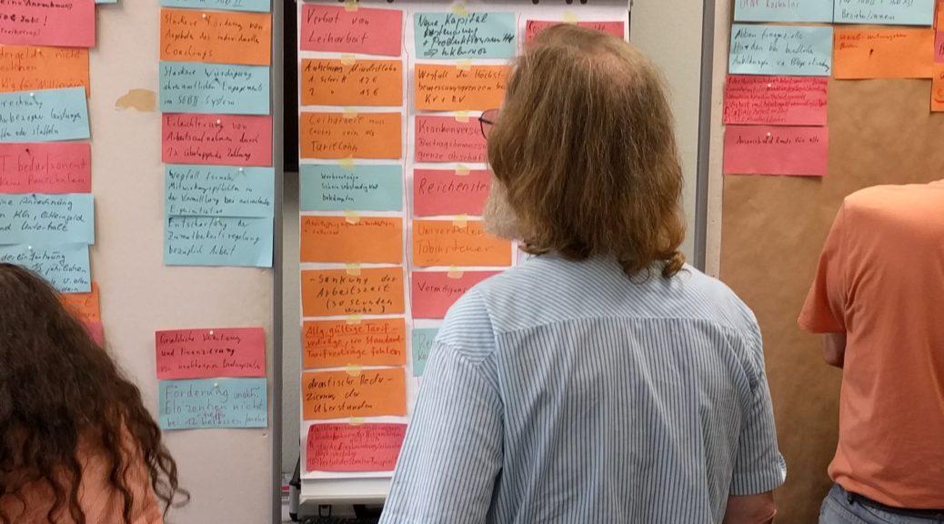 Workshop auf der Erwerbslosen-Tagung in Bad Herrenalb 2017